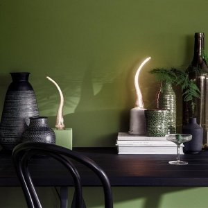 Set van 2 - Lamda Titanium - LED Lamp