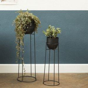 Set van 2 - Plantenbak Melissa - Zwart