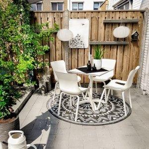 Set van 2 - Tuinstoel Sophie Pro Element - Grijs