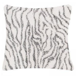 Sierkussen - Berber - Animal Stripe - Wit