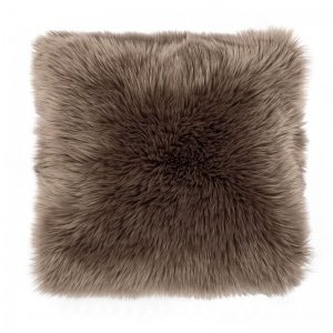 Sierkussen - Fluffy - Taupe