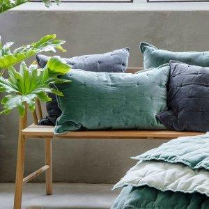 Sierkussen Velvet Touch - Groen - 40 x 60