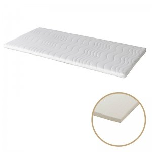Silver Toppermatras Latex 6 cm - Wit - 70 x 200