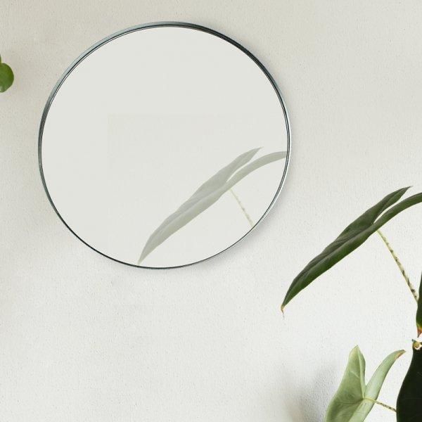 Spiegel Caya - Zwart