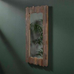 Spiegel Sali - 50x100 cm - Bruin
