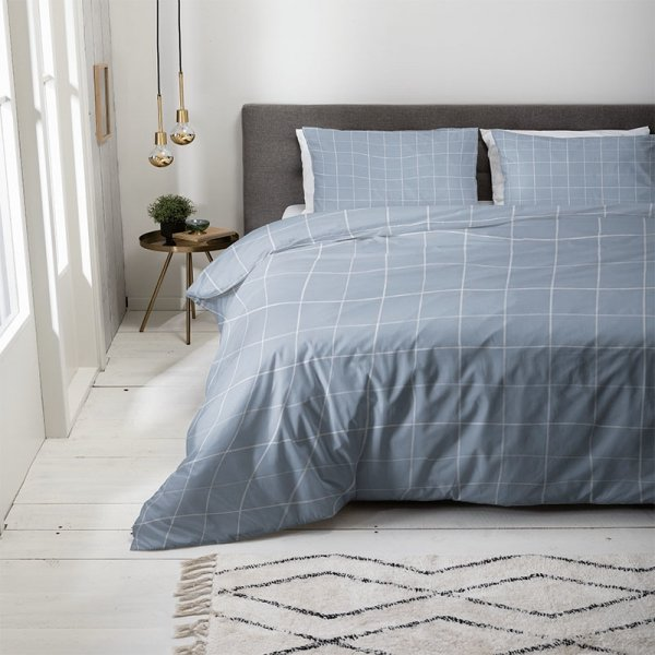Squared - Jeans Blauw - 140 x 220