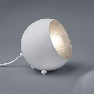 Tafellamp Billy - Metaal - Wit Mat