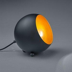 Tafellamp Billy - Metaal - Zwart Mat