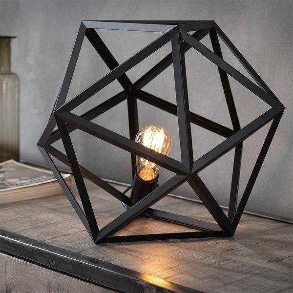 Tafellamp Bohdan - Zwart