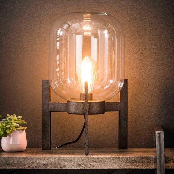 Tafellamp Colin - Metal - Grijs