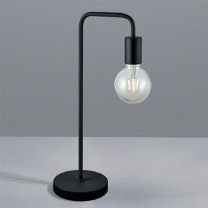 Tafellamp Diallo - Metaal - Zwart Mat