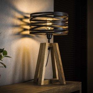Tafellamp Drena - Bruin