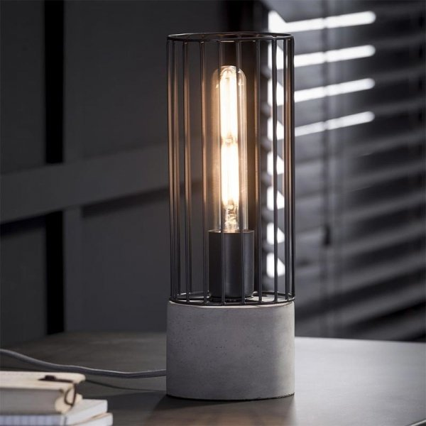 Tafellamp Fos - Grijs