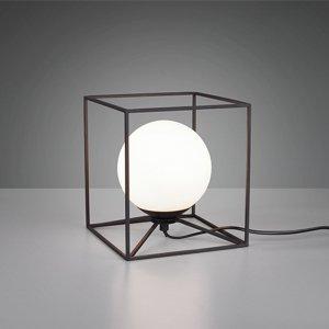Tafellamp Gabbia - Metaal - Large - Zwart Mat