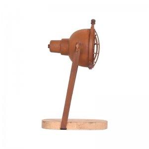 Tafellamp Grid - Bruin