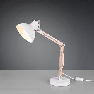 Tafellamp Kimi - Metaal - Wit Mat