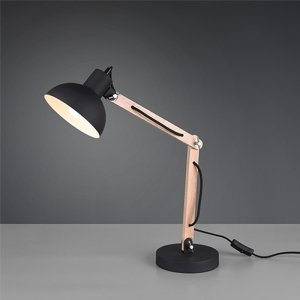 Tafellamp Kimi - Metaal - Zwart Mat