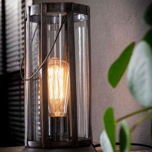 Tafellamp Lantaarn Cilou - Grijs