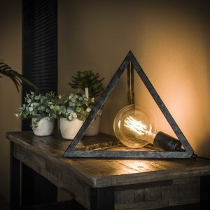 Tafellamp Lazio - Grijs