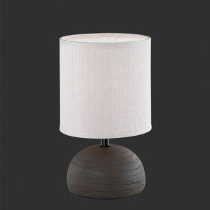 Tafellamp Luci - Keramiek - Bruin