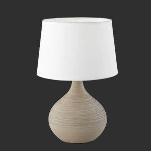 Tafellamp Martin - Keramiek - Cappucino - Taupe
