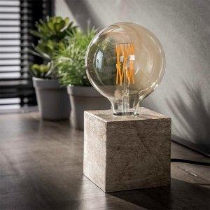Tafellamp Modesto - Nikkel Antiek - Zwart