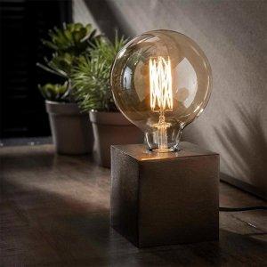 Tafellamp Modesto - Zwart Nikkel