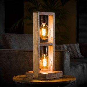 Tafellamp Modulo - 2L - Bruin