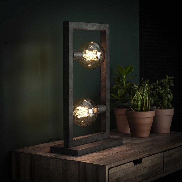 Tafellamp Niemo - 2L - Grijs