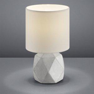 Tafellamp Pike - Beton - Wit