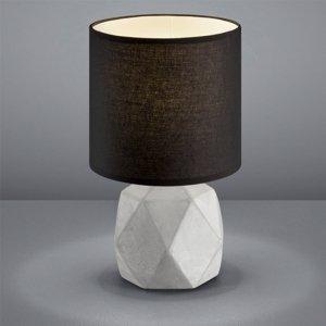 Tafellamp Pike - Beton - Zwart