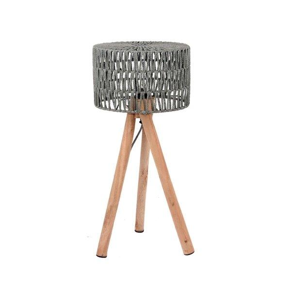 Tafellamp Stripe - Grijs