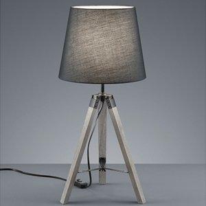 Tafellamp Tripod - Hout - Grijs