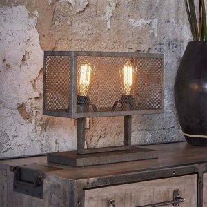 Tafellamp Xem - 2 Lichts - Grijs
