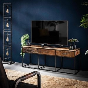 Tv meubel Filey - 3 Lades - Zand