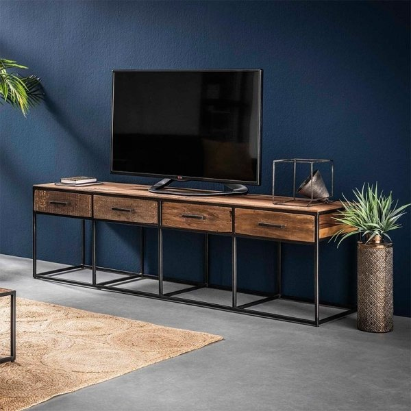 Tv meubel Filey - 4 Lades - Zand