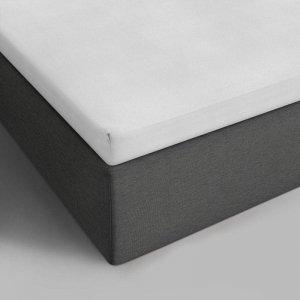 Verkoelend Katoenen Topper Hoeslaken - Wit - 180 x 200