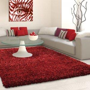 Vloerkleed Antalya Rechthoek - Rood - 160 x 230
