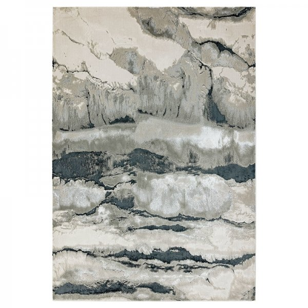Vloerkleed Aurora - Quartz - Grijs - 160 x 230