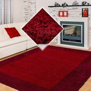 Vloerkleed Bologna - Rood - 200 x 290