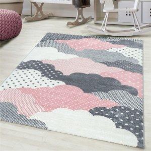 Vloerkleed Clouds - Roze - 160 x 230