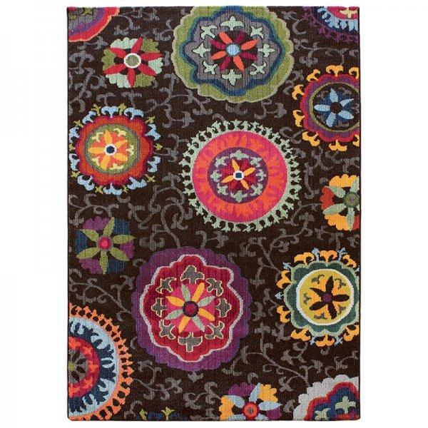 Vloerkleed Colores - Brown - Bruin - 120 x 170