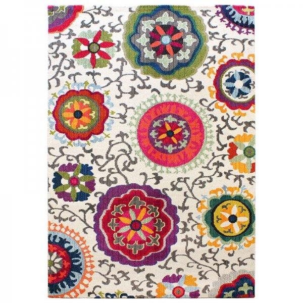 Vloerkleed Colores - Creme - 120 x 170