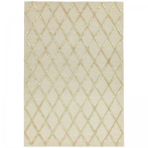 Vloerkleed Dixon - Gold Diamond - Wit - 120 x 170