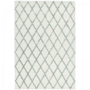 Vloerkleed Dixon - Silver Diamond - Grijs - 120 x 170