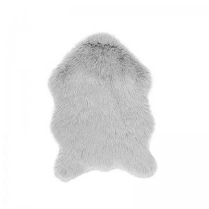 Vloerkleed Fluffy - Licht Grijs