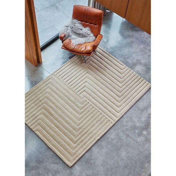 Vloerkleed Form Rug - Natural - 160 x 230