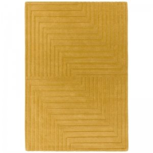 Vloerkleed Form Rug - Ochre - Geel - 160 x 230