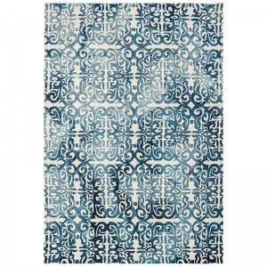 Vloerkleed Fresco Rug - Blue - Blauw - 200 x 300