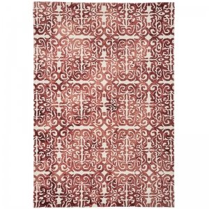 Vloerkleed Fresco Rug - Red - Rood - 200 x 300